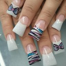 Bows, French tips, and butterflies