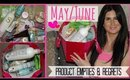 Product Empties & Products I Regret Buying | May/June