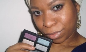 Makeup Tutorial: Simple Silvers With a Pop of Purple