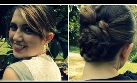 Easy Braided Bun Hairstyle For Casual or Formal Wear| September Ipsy Bag 2013