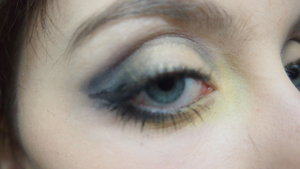 For #28DaysOfArt  this was my Batman inspired look for the day!