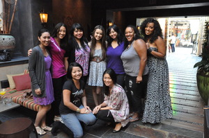 Our LA Meet & Greet with some AMAZING ladies!