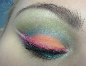 Brights: using Sleek Makeup Acid I-Divine Palette & Sugarpill Cosmetics