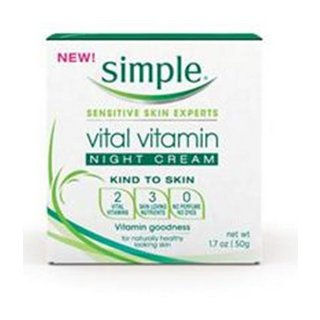 Simple Vital Vitamin Night Cream