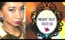 City lights : Night out makeup look