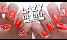 10 Quick Nail Art Ideas If You're LAZY Or LATE!
