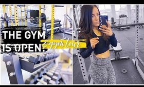 WE OPENED OUR OWN GYM!   + GYM TOUR   GYMSPACE