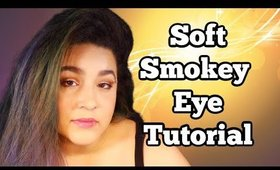 Soft Smokey Eye for Small or Hooded Eyes
