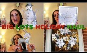 HUGE CHRISTMAS HOME DECOR HAUL |  BIG LOTS