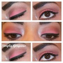 FOTD: Hot Pink & Brown Eyes