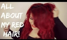 All about Red hair | Dying, Maintenance Tips & Tricks, Favorite Products | MRamosMUA