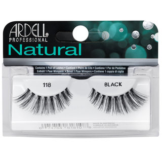 Natural Lashes 118 Black