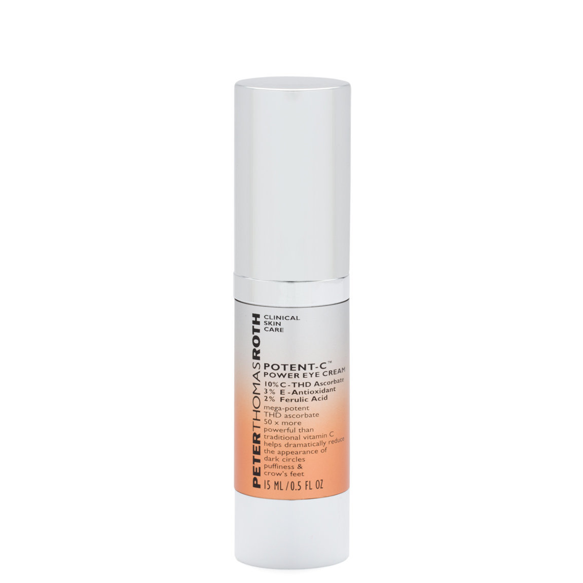 Peter Thomas Roth Potent-C Power Eye Cream product swatch.