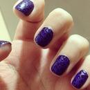 leopard print nails-matte/shiny