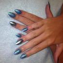 Mermaid foil & rockstar nails