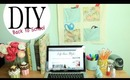 DIY Wall Organizer & Desk Accessories {Back to School Ideas}