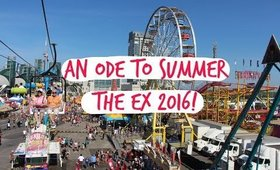AN ODE TO SUMMER - THE EX 2016 VLOG