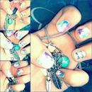Abstract nails <3