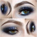 Indie Eyeshadow Smokey Eye