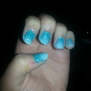 first try at ombre nails