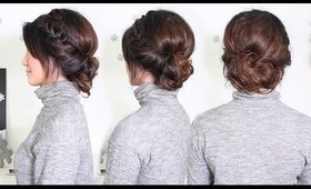 Braided New Year's Eve Updo - All Things Hair | Cerinebabyyish