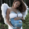 Kaimana Angel Belly Painting