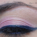 Navy blue + pink