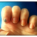 My sweet nails with the same star *