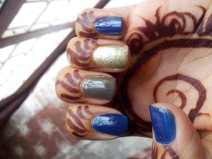 My nails on eid.