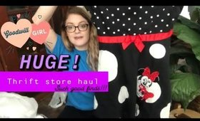 Huge Thrift Haul: GoodWill Pound Store & Other Thrift Stores    April 17, 2019