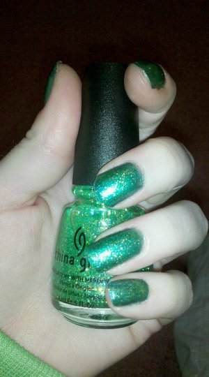 OPI Austin-tatious Turq & China Glaze Sour Apple