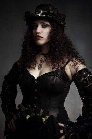 Lady Zombie - Photo by Adrian Buckmaster. Makeup by Deity Delgado.