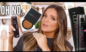 TESTING HOT NEW HUDA BEAUTY PRODUCTS.... THIS WAS ROUGH  | Casey Holmes