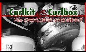 Curlkit vs Curlbox December 2017 plus GIVEAWAY! | Shawnte Parks