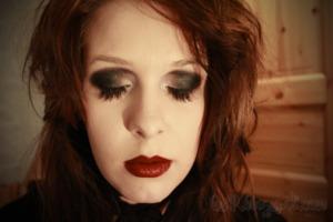 Lady Gaga / Dramatic Black & White MakeUp ♥ 2