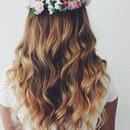 Ombré curls