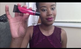 how to style bright lipstick ( for daytime ) motd  plus guest appearance from my puppy !!