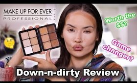 REVIEWING MAKEUP FOREVER ULTRA HD FOUNDATION PALETTE | Maryam Maquillage