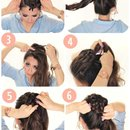 DIY Starburst Braided Bun Tutorial