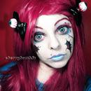 Halloween Makeup Look Broken Doll