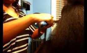 Flat Ironing Natural Hair