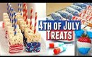Quick and Easy DIY Fourth of July TREATS, Easy Patriotic Treats for 4th of July Party