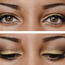 Soft Gold Fall Eye Makeup Look
