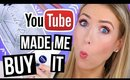YouTube Made Me Buy it!    HYPED Makeup: Was it Worth it?!