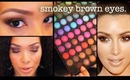 Smokey Brown Eyeshadow Tutorial + Sedona Lace Palette Review