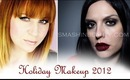 Holiday look 2012 (Christmas makeup with Smashinbeauty)