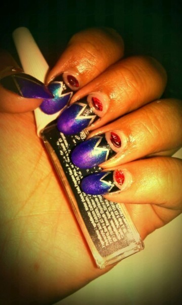 Evil Queen Once Upon a Time Inspired Nails