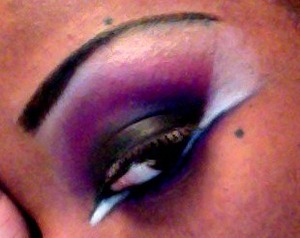 A re-creation of a look I seen on Beautylish a long time ago! but no name!