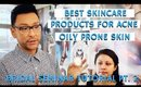 Best Skincare Products for Acne Prone Oily Skin | Bridal Seminar Pt. 2 | mathias4makeup
