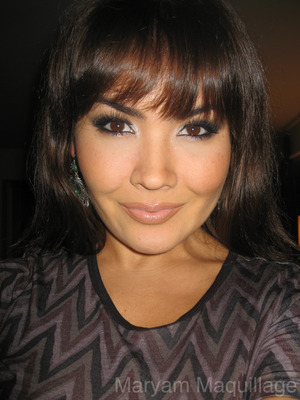 Smokey Eyes & Bangs for NYears :) http://www.maryammaquillage.com/2011/12/sparkly-eyeballs-for-2012.html